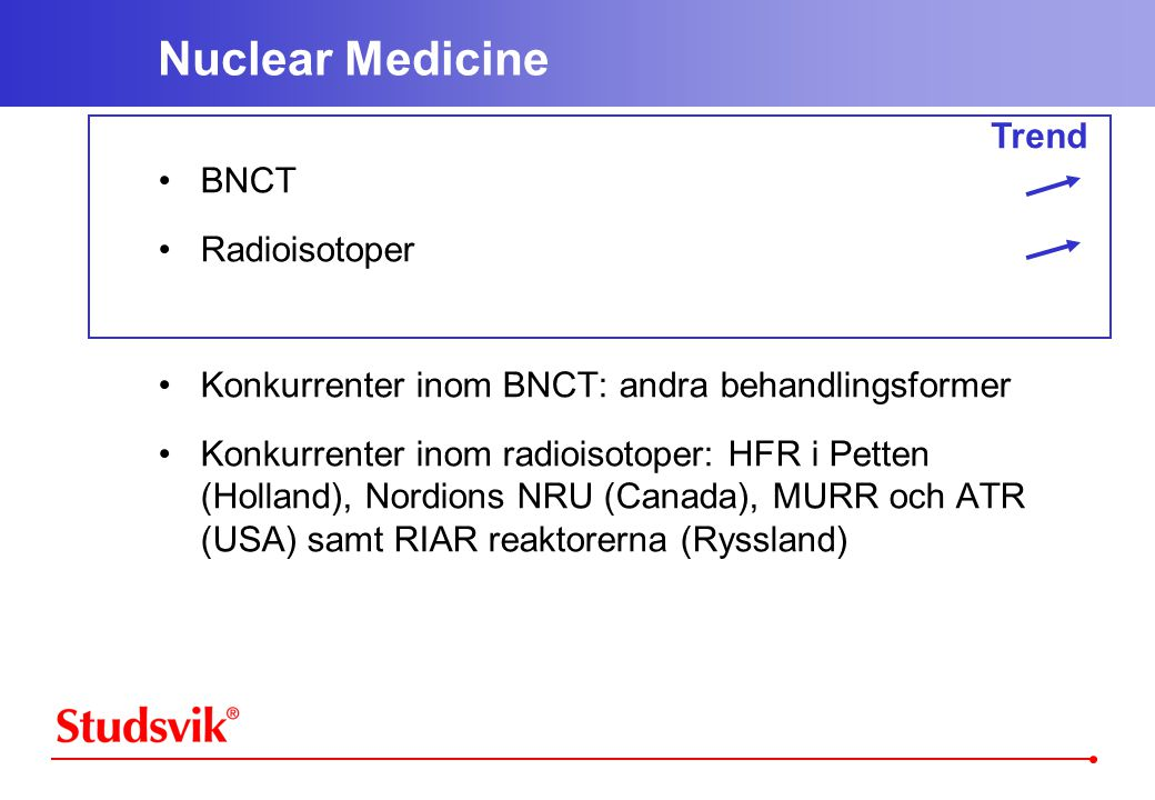 Nuclear Medicine Trend BNCT Radioisotoper