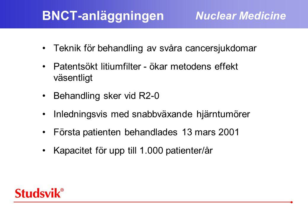 BNCT-anläggningen Nuclear Medicine