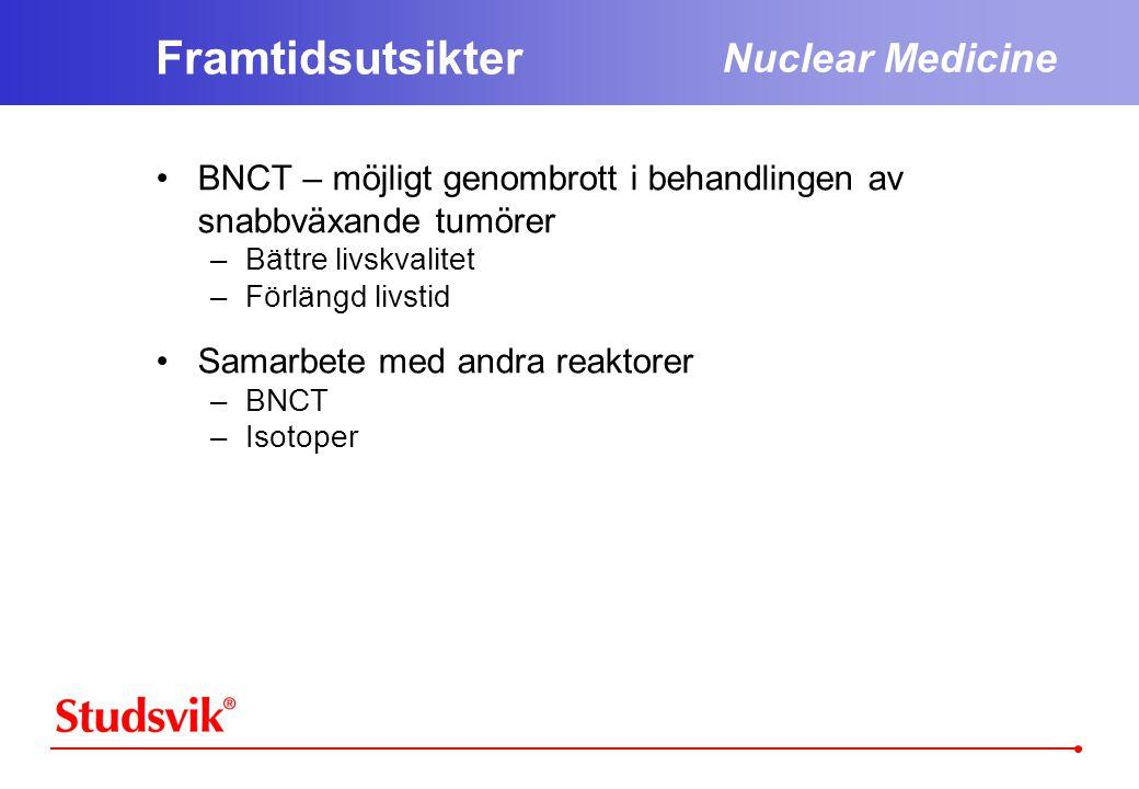 Framtidsutsikter Nuclear Medicine