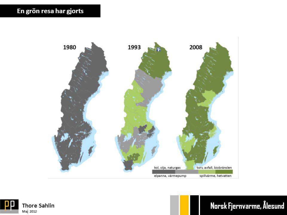 En grön resa har gjorts Bryggan Bryggan Ekonom Ekonom Thore Sahlin