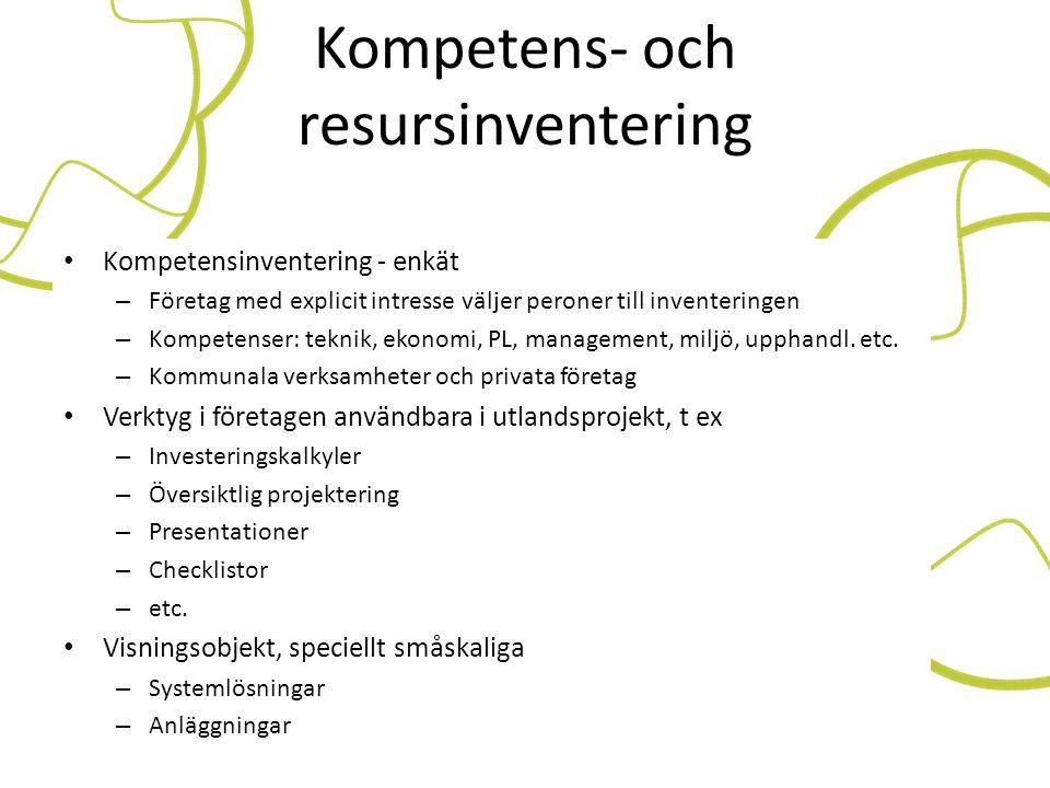 Kompetens- och resursinventering