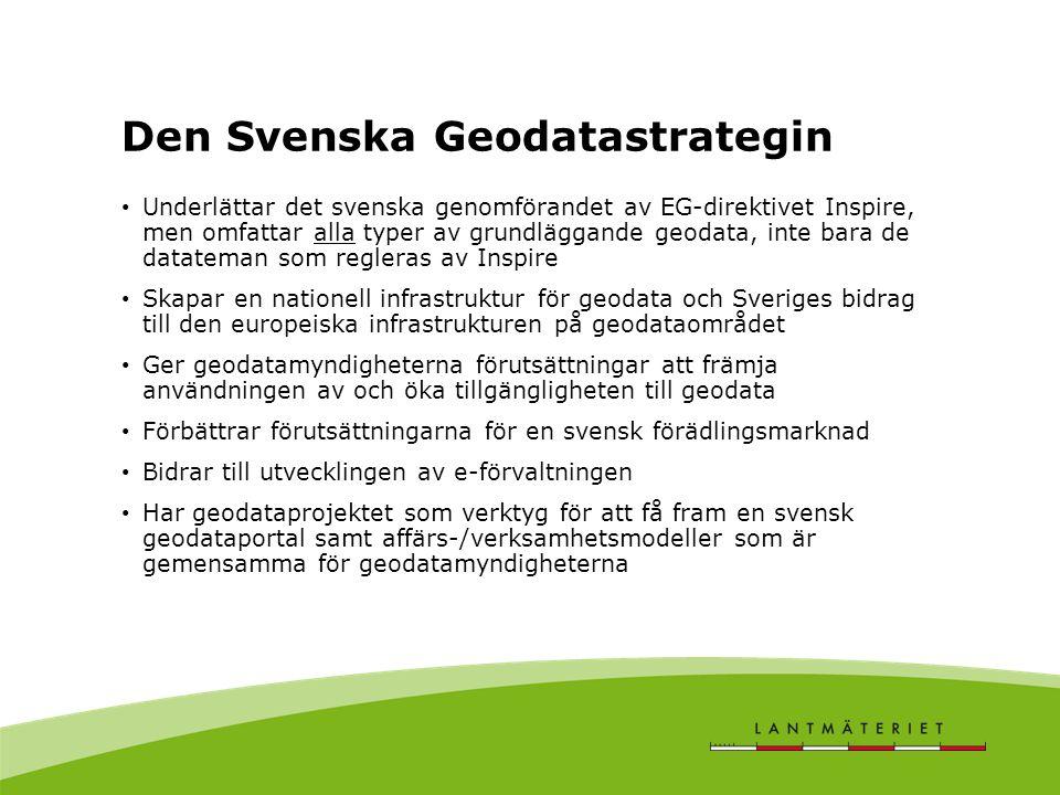 Den Svenska Geodatastrategin
