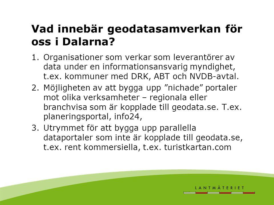 Vad innebär geodatasamverkan för oss i Dalarna