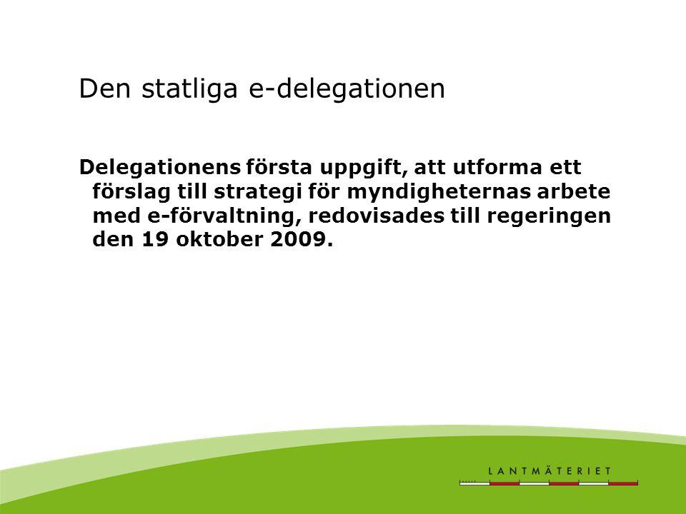 Den statliga e-delegationen