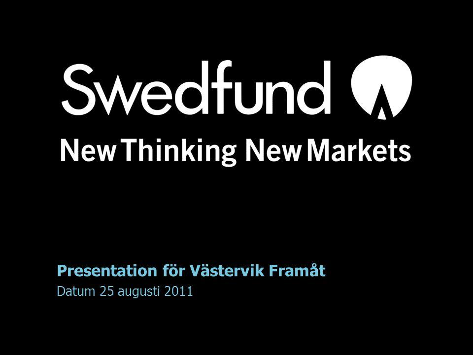 Presentation för Västervik Framåt
