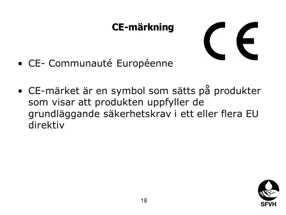 CE- Communauté Européenne