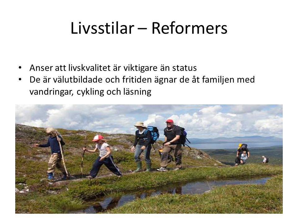 Livsstilar – Reformers