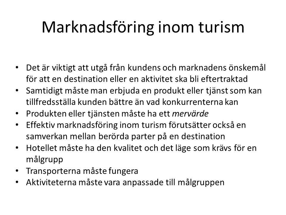 Marknadsföring inom turism