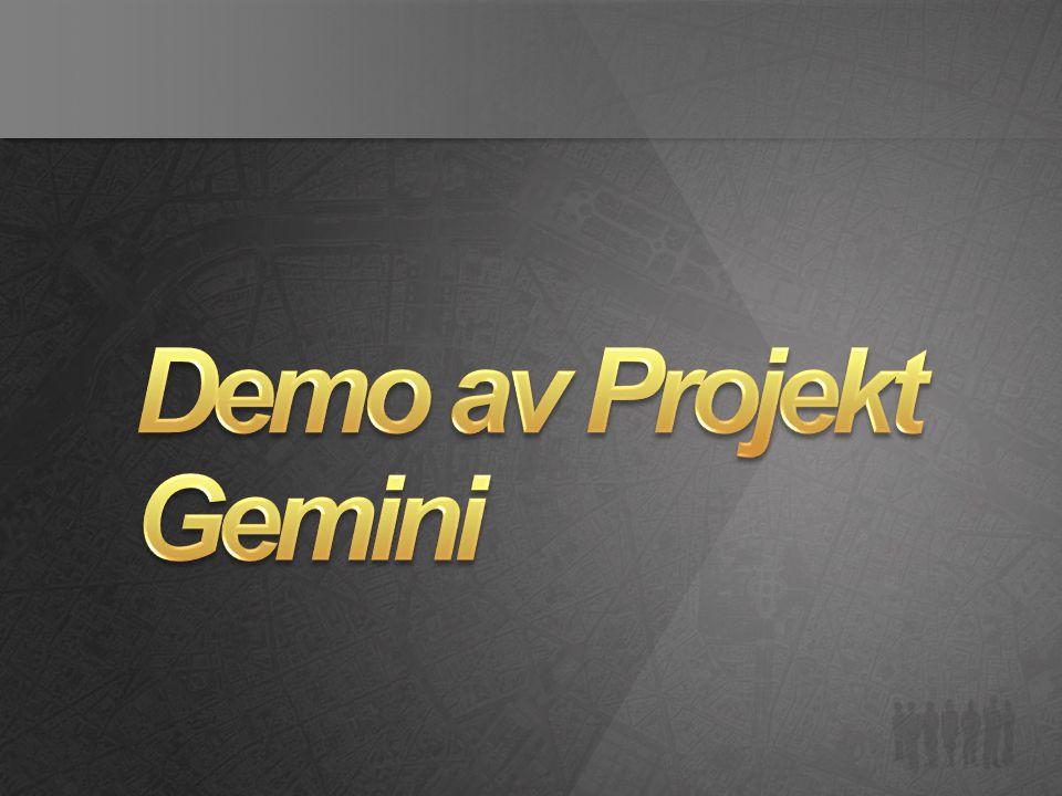Demo av Projekt Gemini