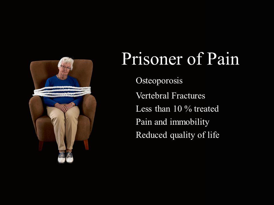 Prisoner of Pain Osteoporosis Vertebral Fractures