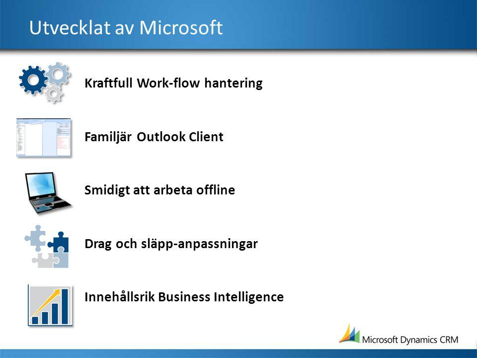 Utvecklat av Microsoft