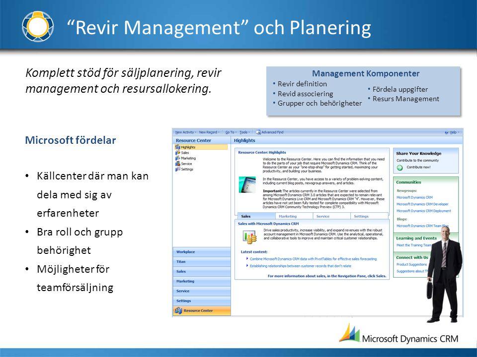 Revir Management och Planering