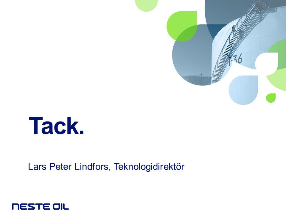 Lars Peter Lindfors, Teknologidirektör