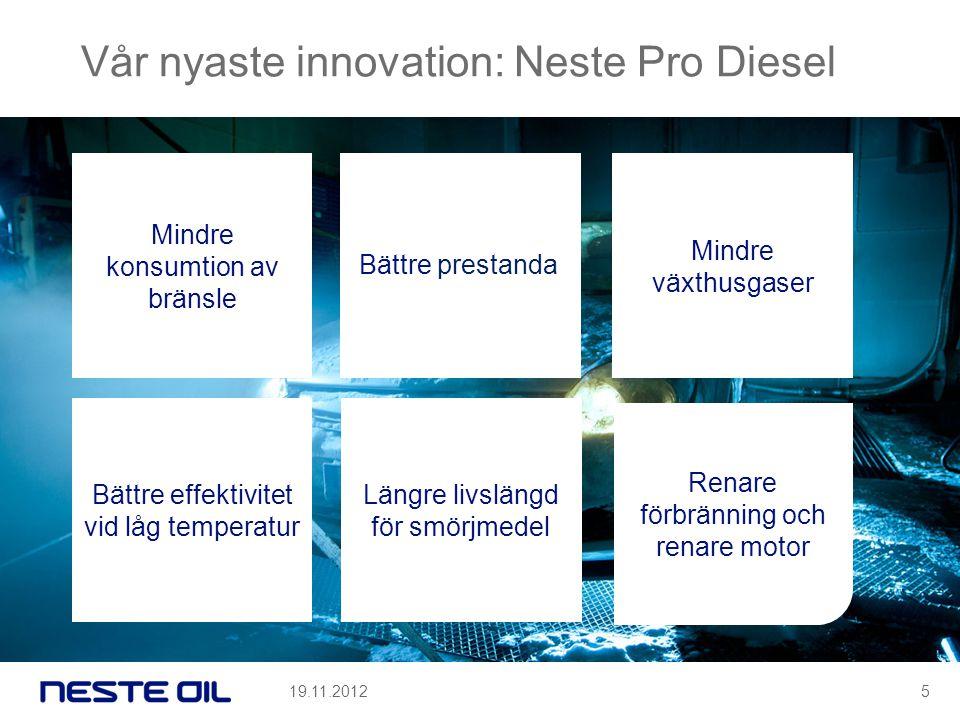 Vår nyaste innovation: Neste Pro Diesel
