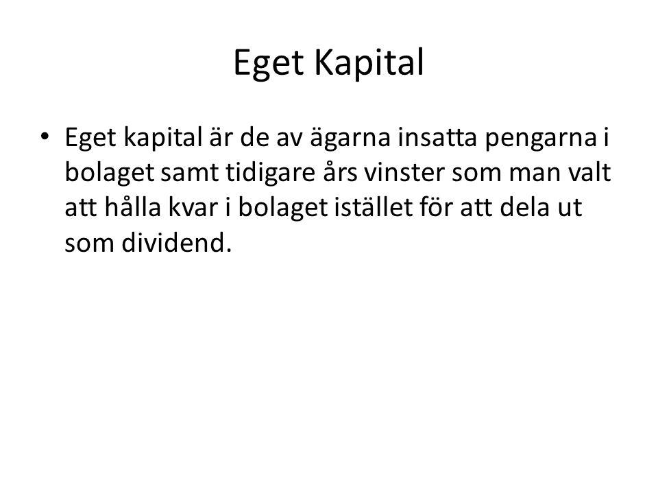 Eget Kapital