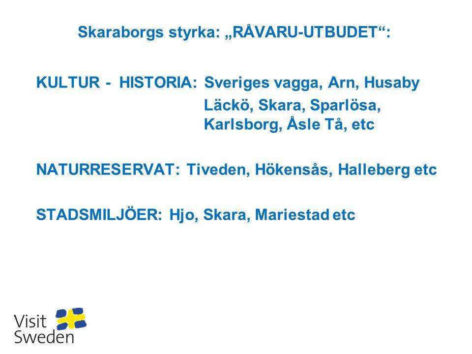 "Skaraborgs styrka: ""RÅVARU-UTBUDET :"