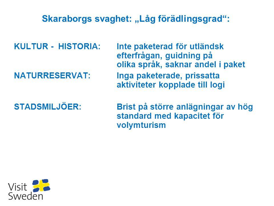 """Skaraborgs svaghet: """"Låg förädlingsgrad :"""