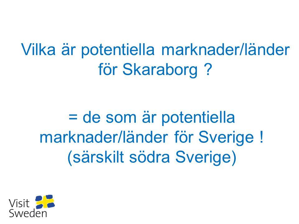 Vilka är potentiella marknader/länder för Skaraborg