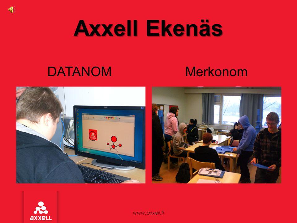 Axxell Ekenäs Merkonom DATANOM www.axxell.fi