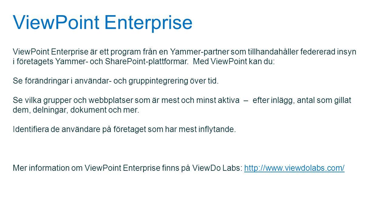 ViewPoint Enterprise