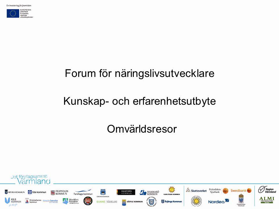 Forum för näringslivsutvecklare