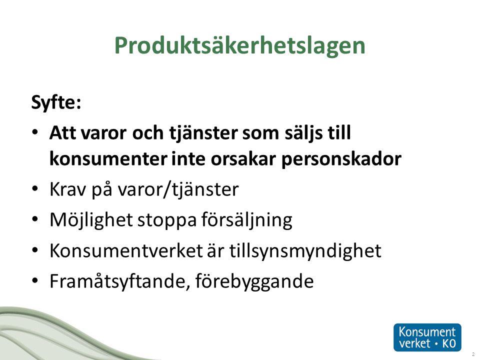 Produktsäkerhetslagen