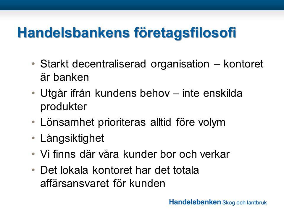 Handelsbankens företagsfilosofi