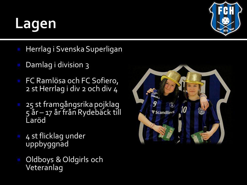 Lagen Herrlag i Svenska Superligan Damlag i division 3