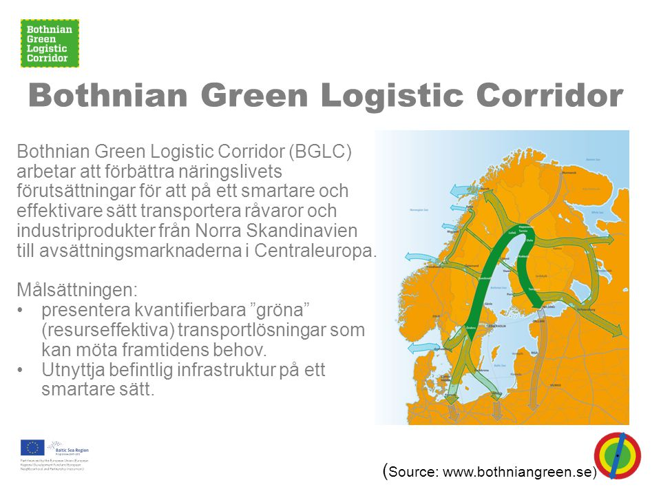 Bothnian Green Logistic Corridor