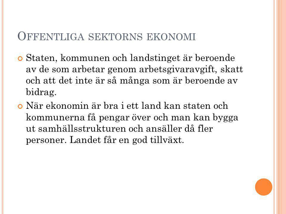 Offentliga sektorns ekonomi