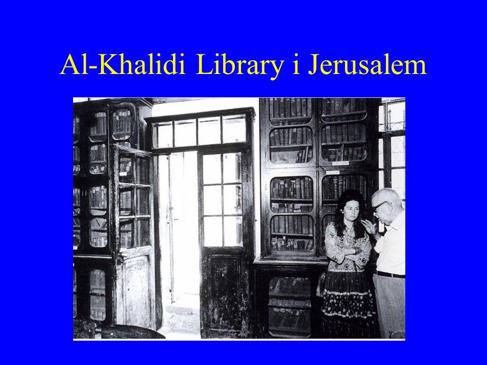 Al-Khalidi Library i Jerusalem