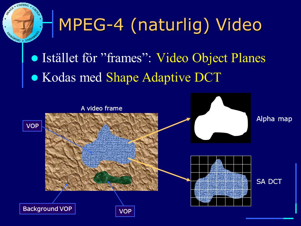 MPEG-4 (naturlig) Video