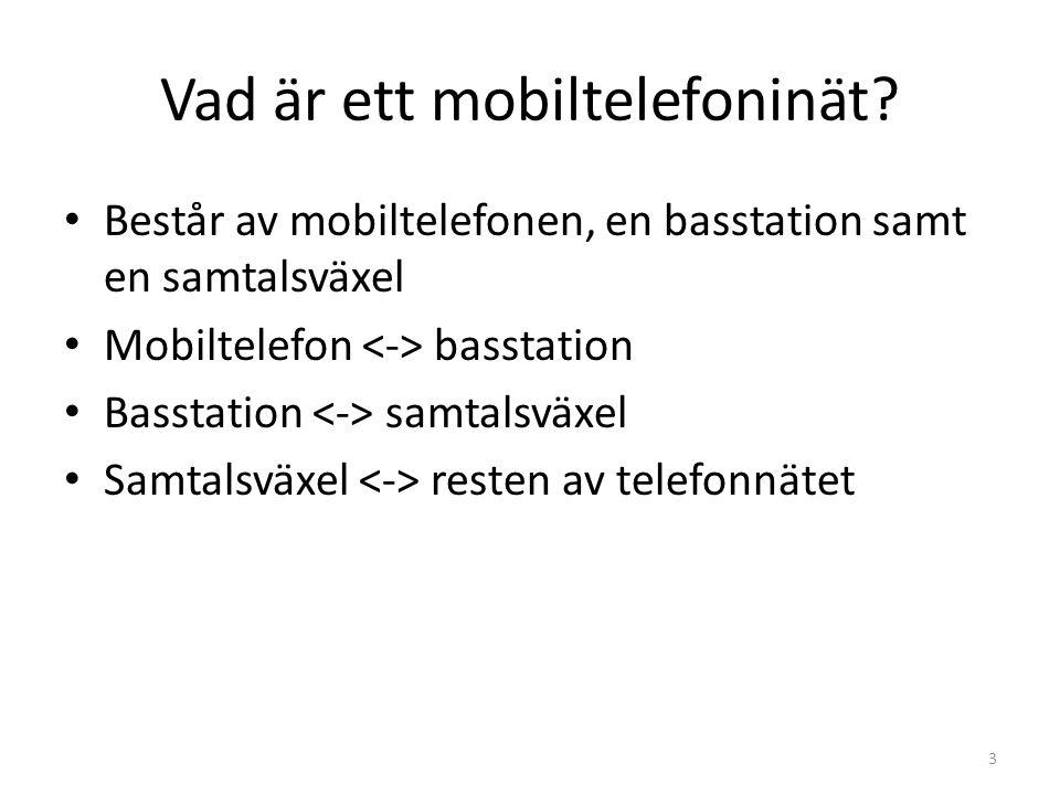 Vad är ett mobiltelefoninät