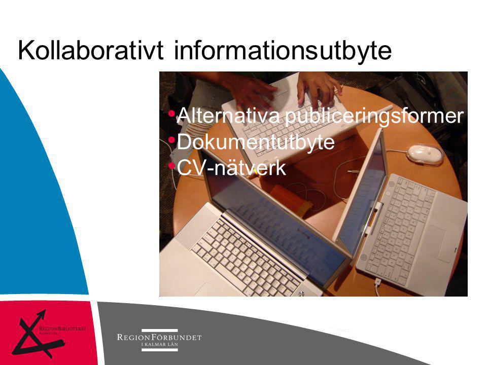 Kollaborativt informationsutbyte
