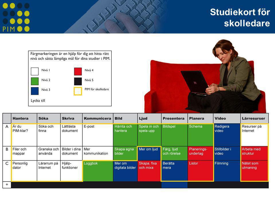 Studiekort för skolledare Studiekort för skolledare