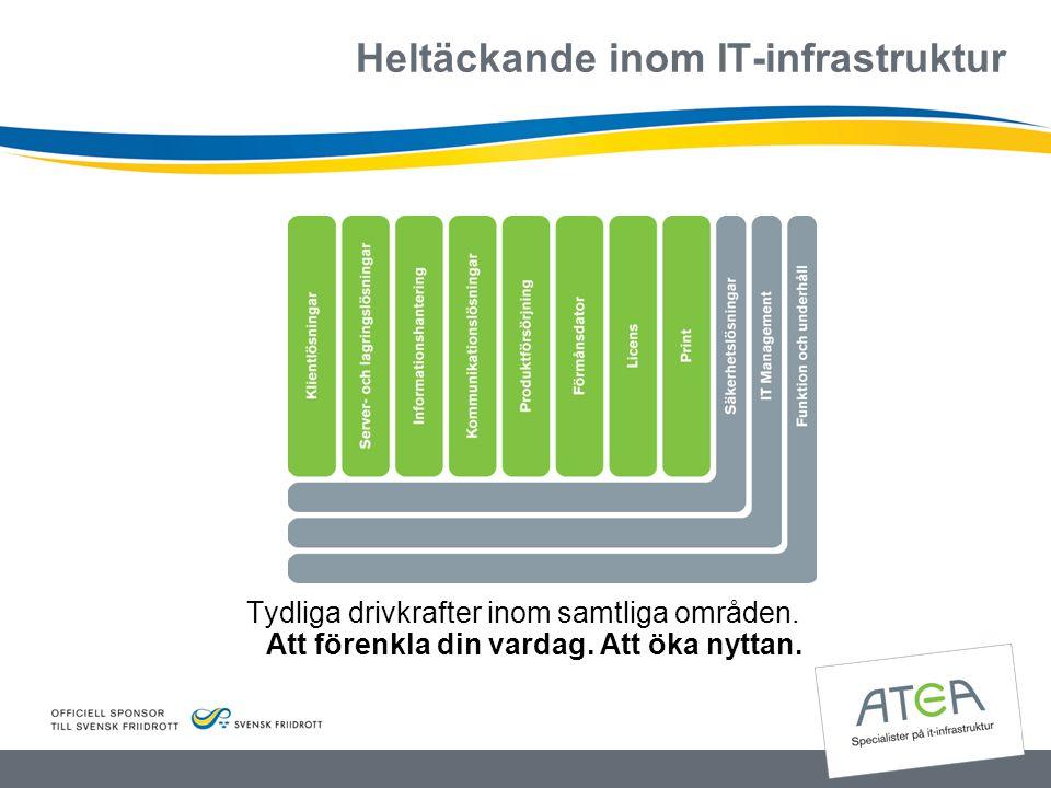 Heltäckande inom IT-infrastruktur