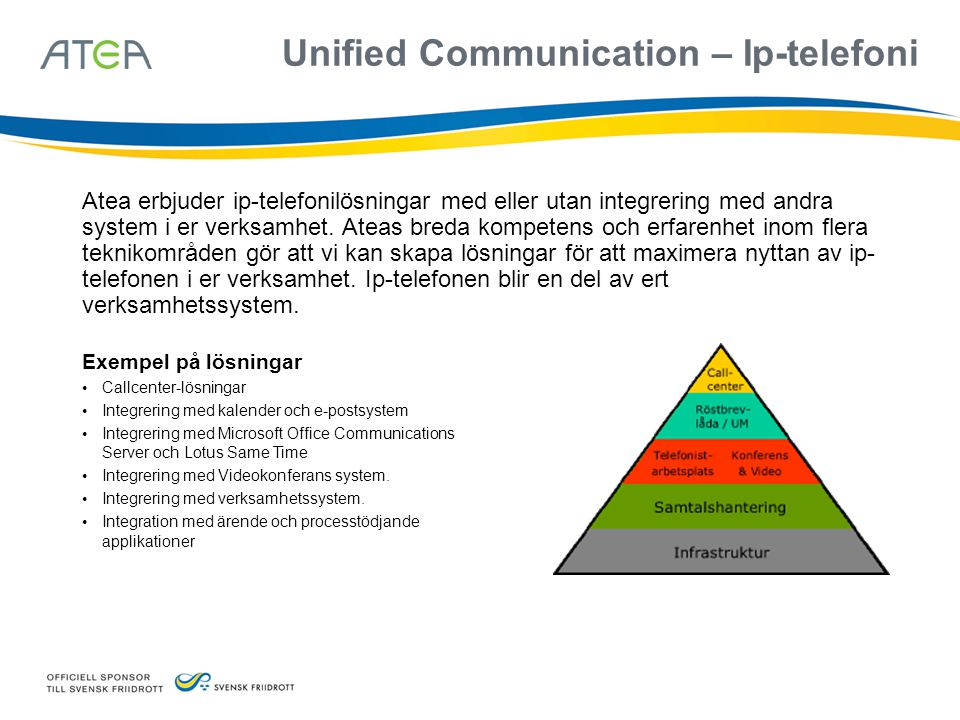 Unified Communication – Ip-telefoni