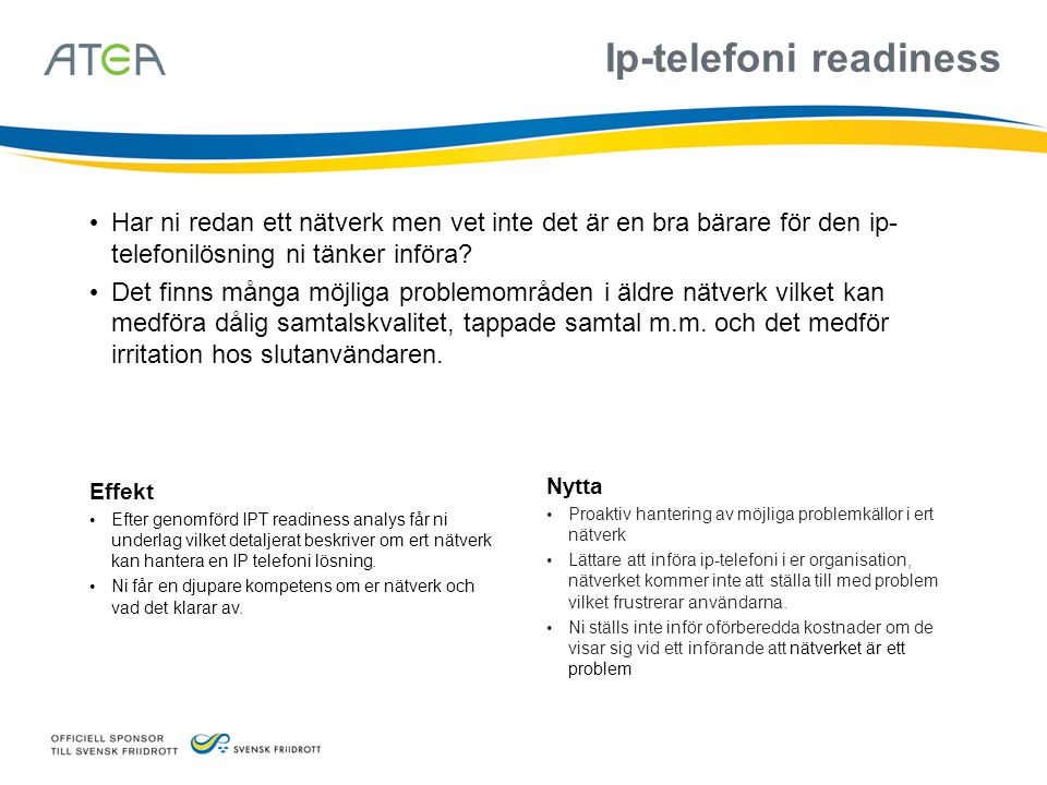 Ip-telefoni readiness