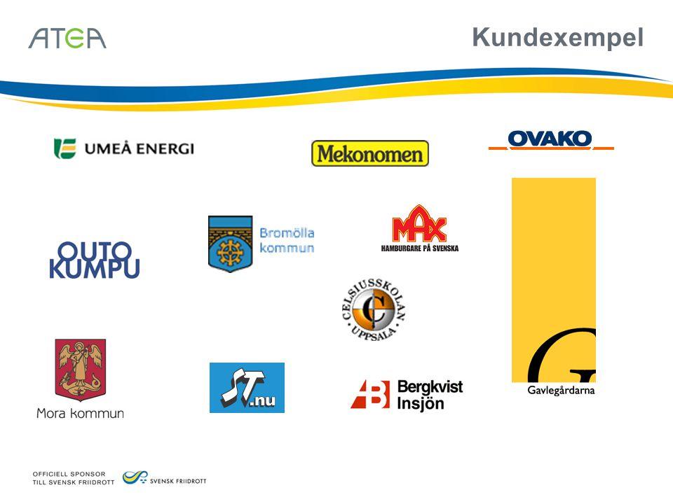 Kundexempel Umeå Energi: Både Stadsnätet i Umeå (UmeNet) och även Umeå Energis interna nätverk för deras produktionsnära system (PLC)