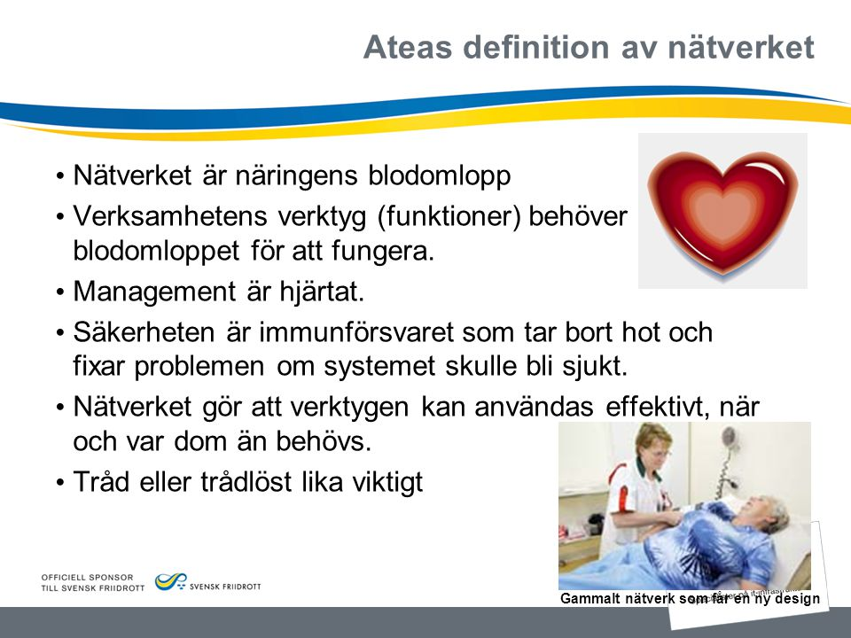 Ateas definition av nätverket