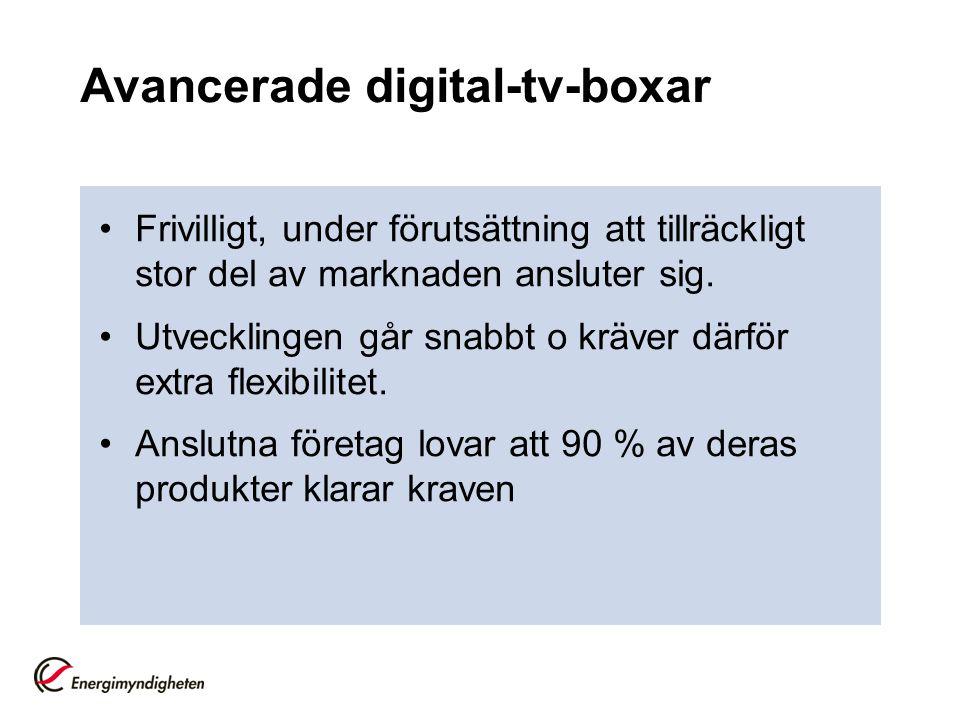 Avancerade digital-tv-boxar