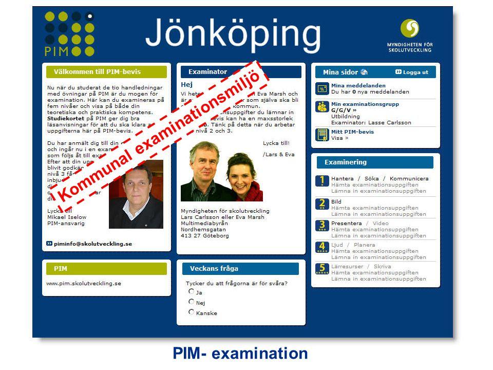 Kommunal examinationsmiljö