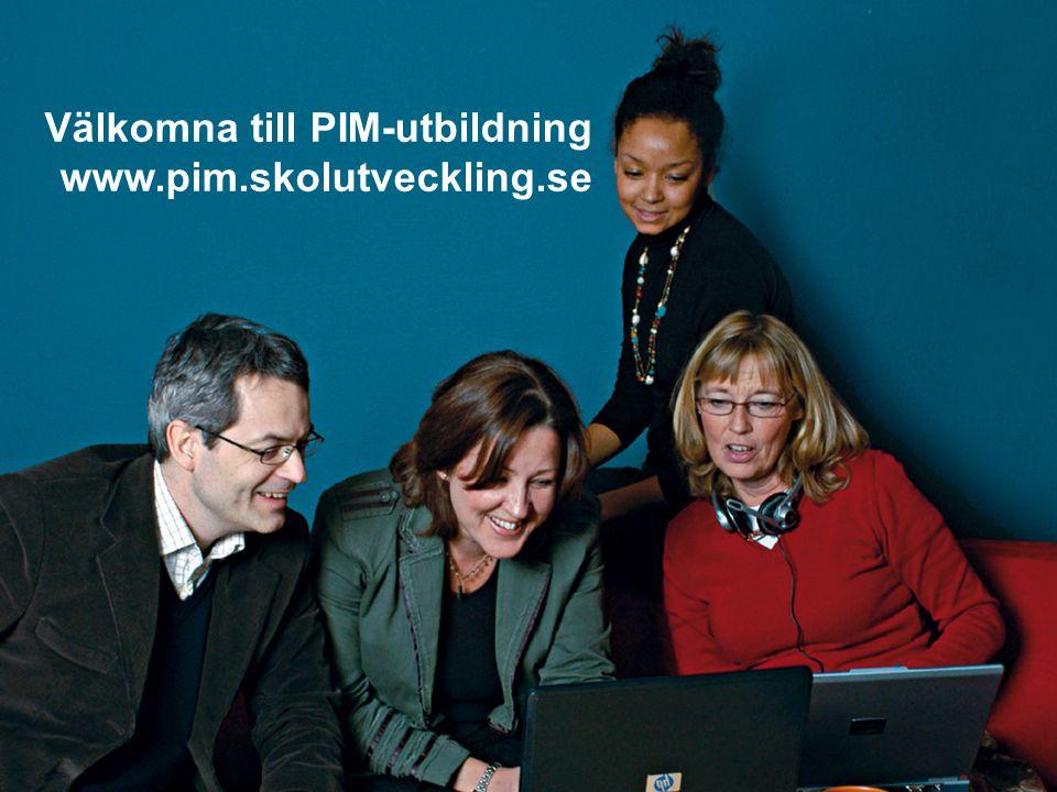 Välkomna till PIM-utbildning