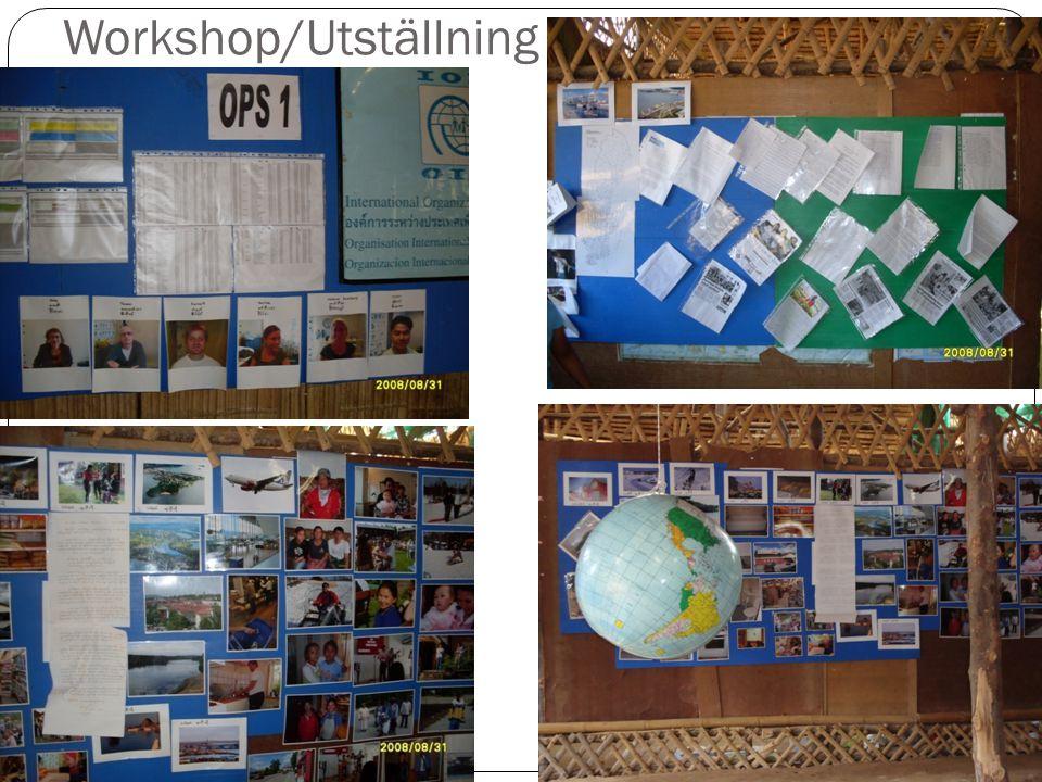Workshop/Utställning