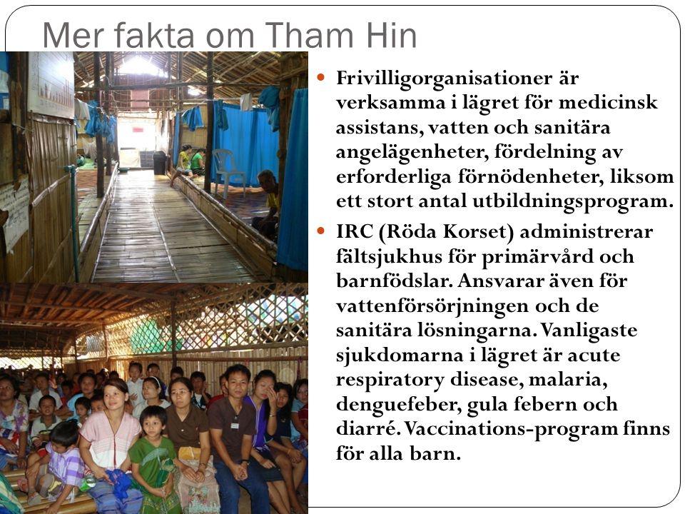 Mer fakta om Tham Hin