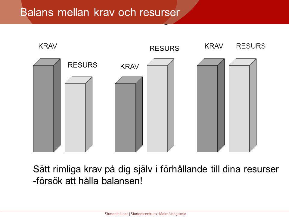 Större mångfald Balans mellan krav och resurser