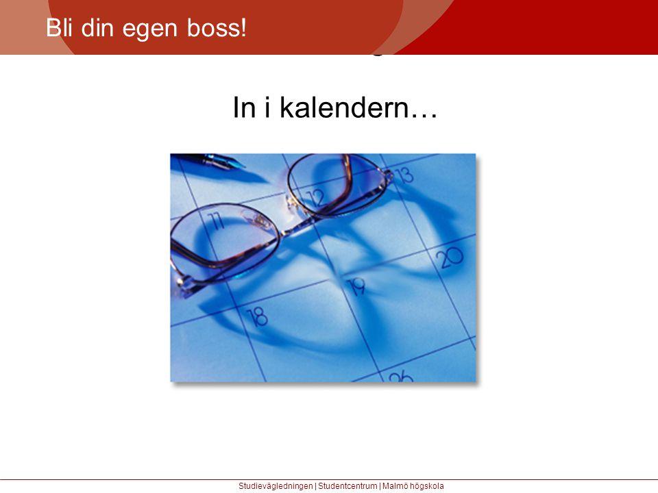 Större mångfald In i kalendern… Bli din egen boss!