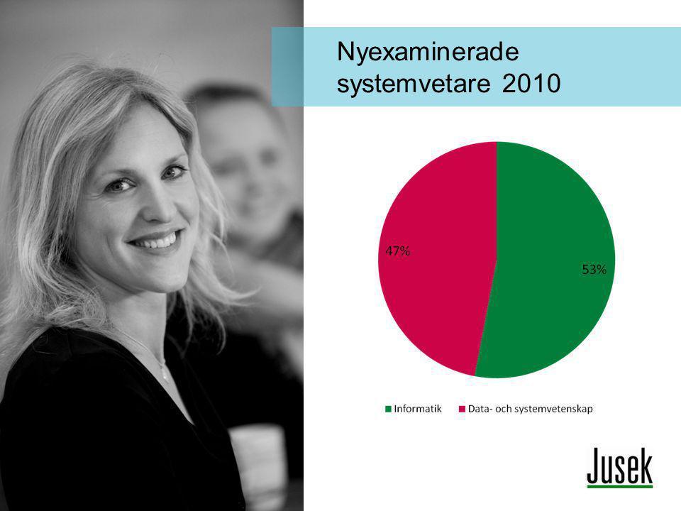 Nyexaminerade systemvetare 2010