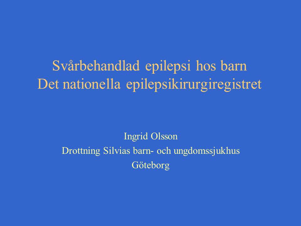 Ingrid Olsson Drottning Silvias barn- och ungdomssjukhus Göteborg