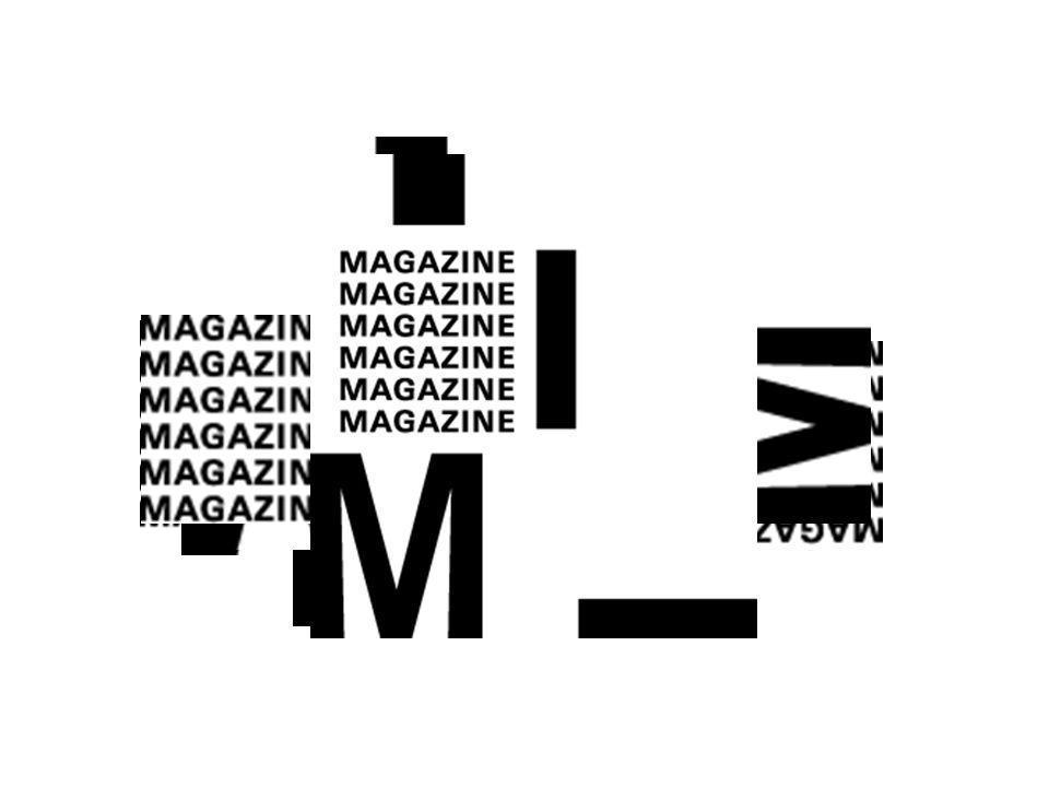 Magazines märke finns i 13 varianter formgivet av Gabor Palotai